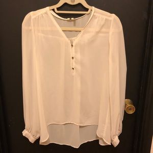 Needle & Thread Chiffon Top